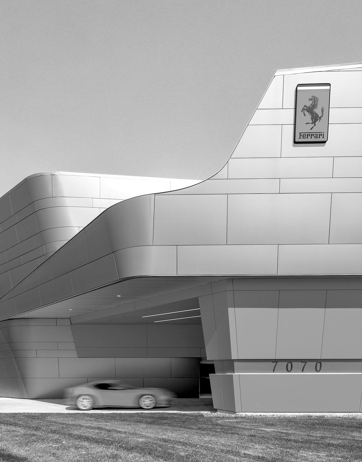 Cauley Ferrari of Detroit Project in Michigan Architecture Black and white